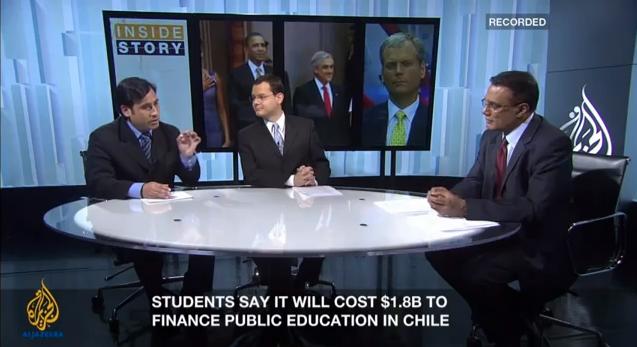 Al Jazeera ScreenShot Patricio Zamorano Vista General