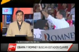 Canal 24 horas TVN Chile Patricio Zamorano