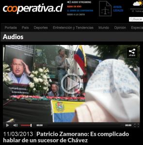 Foto Chavez Cooperativa Patricio Zamorano
