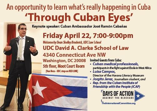 ambassador Cuba forum