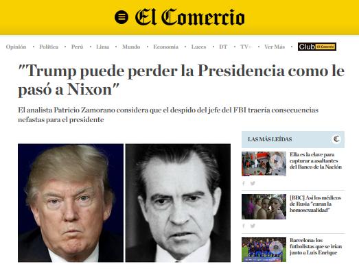 El Comercio Articulo Patricio Zamorano mayo 2017