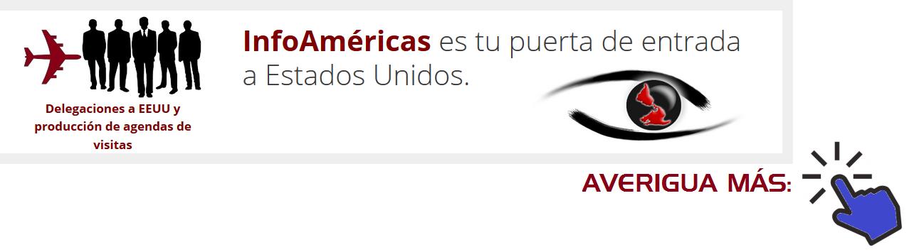 Promo InfoAmericas Puerta de entrada a EEUU con clic