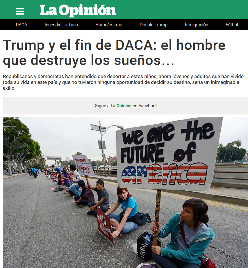 Screen Shot DACA Trum Patricio Zamorano