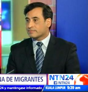 Patricio Zamorano en NTN24